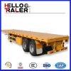 20FT Aanhangwagen van de Container van de tri-As van de Aanhangwagen van de container de Semi Flatbed