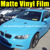 Matt Sky Blue Vinyl Film per Car Wrap con Air Free Bubbles