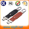 OEM Metal PU Leather Buckle USB 2.0 Wholesale New Design Flash Drive