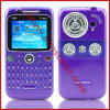 Geopende Purple van de Telefoon van de Band van de Vierling Cellulaire Q99