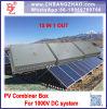 15 em 1 para fora caixa do combinador do sistema de energia 1500VDC para fora da grade ou no sistema do inversor da grade