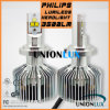 2015 3500lm H4 Philips LED Car Headlight Warranty