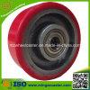 Roda resistente do plutônio do ferro de molde do carro da mão da alta qualidade