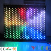 3X4meters Fireproof Fabric Flannel Backdrop Decoration LED Video Curtain