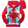 2015 neues Autumn Spring Hoodies für Children Full Fashion Boys Sweatshirts Kids Jackets Blue Colour