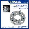 Kundenspezifischer Aluminium-CNC geprägter maschinell bearbeitenEdelstahl-Lenkrad-Adapter