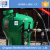 Máquina de la limpieza de la ráfaga de la arena de la estructura de acero, crisol de la voladura de arena