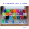New 22 Colors Transparent Box DIY Silicone Kits Rainbow Loom Bands