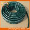 Excellent tuyau de jardin résistant UV de PVC de vert