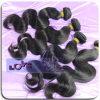 venta al por mayor peruana de la extensión de la onda del cuerpo del pelo humano de la Virgen 6A