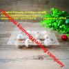3X4 12units borran las bandejas plásticas del huevo de codornices del animal doméstico