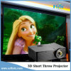 USB T185 de Short Throw Projector 3D HDMI da instrução