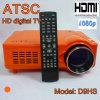 Projecteur de théâtre à la maison ATSC Proyector avec le tuner de Digitav TV, HD 1080p, HDMI