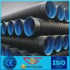 Alcantarilla y tubo del drenaje de material del HDPE