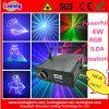 4W RGB 25k Ilda Animation Laser Light Logo Projector