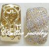 Cardiorの宝石類18kのダイヤモンドのイヤリング(E01001)
