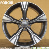 l'alliage 18 d'aluminium borde la reproduction pour des roues d'Audi