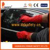 Rote lange Stulpe-Haushalts-Latex-Handschuhe DHL442