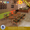 Самомоднейшие софа штанги кофеего типа одиночные и таблица (UL-JT939)