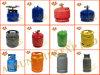 2017 cilindros de gas del LPG de la última África para la venta caliente