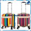 Bw1-172 valise, type jeux élégants polyvinyliques de bagage de bagage de course de chlorure