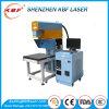 etiqueta de plástico grande dinámica del laser del CO2 de Jean de la escala del gancho de leva de 3D Rofin