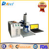 Etiqueta de plástico del laser de la fibra del CNC de la calidad 20W de China en la superficie 3D/el metal/el papel para la venta