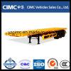 Cimc 3 Wellen 40FT 50 Tonnen-Behälter-Flachbett-halb Schlussteil