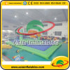 Juego inflable del deporte Juego inflable del Bossaball Bossaball Corte para el adulto