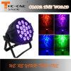 la IGUALDAD de interior de 18*17W RGBWA+UV LED puede efectuar la luz