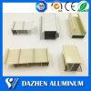 Perfiles de aluminio con recubrimiento de polvo de aluminio para ventanas y puertas