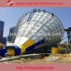Equipos de acero populares del parque del agua del marco del espacio de las diapositivas de agua