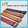 Shockproof PU-lederner schützender Kasten für iPhone Noten-Feder