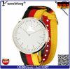 Reloj resistente de encargo del cuarzo de agua de la correa 3ATM de la OTAN de la insignia del reloj caliente de la venta Yxl-530