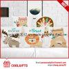 Ammortizzatore di tela personalizzato di /Sofa del cuscino del cotone animale della stampa della scatola