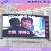 Étalage de panneaux d'écran de l'IMMERSION DEL de l'intense luminosité P25 pour la publicité