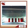Techo interior de aluminio del material de construcción de la capa del polvo del surtidor de China