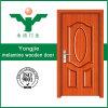 Vorteilhafte Melamin-Bauholz-Tür mit Dekoration in Yongkang