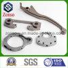 Peças de usinagem de máquina CNC de aço carbono e liga de bronze personalizados