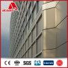Painel composto de alumínio decorativo ACP PVDF do painel de Dibond
