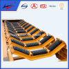 Impact de borracha Conveyor Idlers para Bulk Material Handling