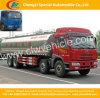 Carro de petrolero fresco del transporte de la leche 8*4