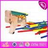 2015 de Kleurrijke Grappige Lagen van het Stuk speelgoed van het Spel Houten voor Jonge geitjes, Stuk speelgoed van de Laag van de Kinderen van het Ontwerp van het Paard het Houten, het Onderwijs Houten Stuk speelgoed W13D075 van Lagen