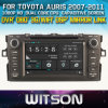 Toyota Auris 2007-2011년 Radio를 위한 Witson Windows Navigitaon