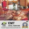 Tableau de base en bois de table en verre d'entrée d'hôtel (EMT-FD05)