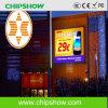 Colore completo LED esterno di alta qualità P10 di Chipshow che fa pubblicità allo schermo