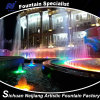 Water quadrato Fountain con Music