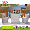 Openlucht Rattan Table en Chair (dh-1130)