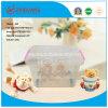 Caixa de armazenamento plástica desobstruída resistente dos produtos 130L do agregado familiar da alta qualidade