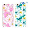 Cajas materiales móviles del teléfono de los diseños florales TPU de la alta calidad